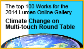 The top 100 Works for the 2014 Lumen Online Gallery